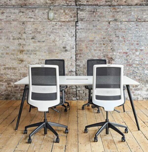 Bestuhl S30 Mesh Task Chair - White