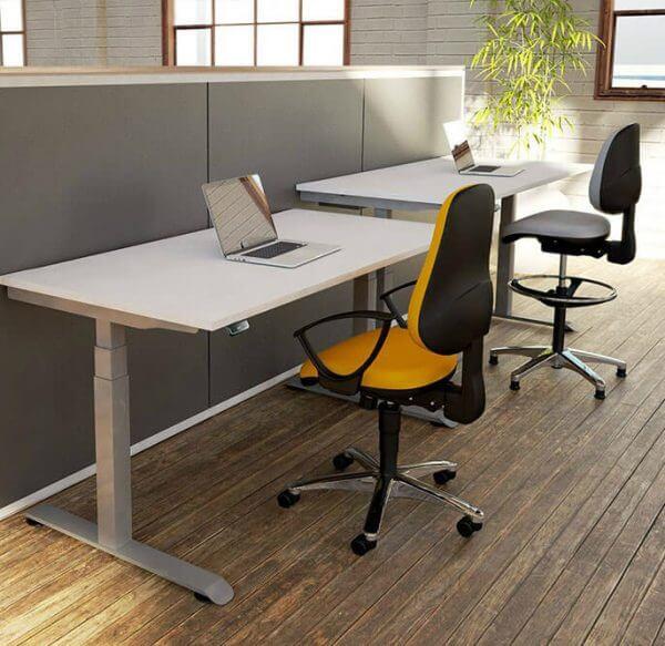 Gravity Single Height Adjustable Desk